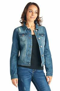 Women-s-Juniors-Premium-Stretch-Denim-Long-Sleeve-Ripped-Jacket