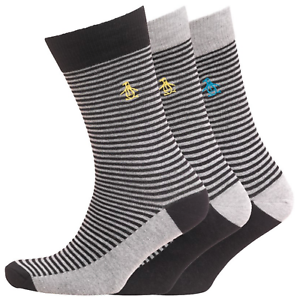 Penguin by munsing Coton Homme Designer chaussettes UK 7-11 RRP £ 19.99 Great Gift