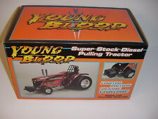 """New AGCO DT225 """"Orange Chrome"""" Young Blood Puller Tractor NIB! 1 of 200!  Sharp!"""