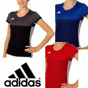 d84daadfaa3 adidas Ladies T16 Climacool Sports Tee Womens Gym Running T-Shirt ...