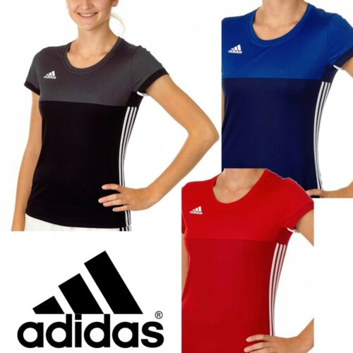 Adidas Femme T16 climacool Sports Tee pour Femme Gym Course T-shirt Track Top