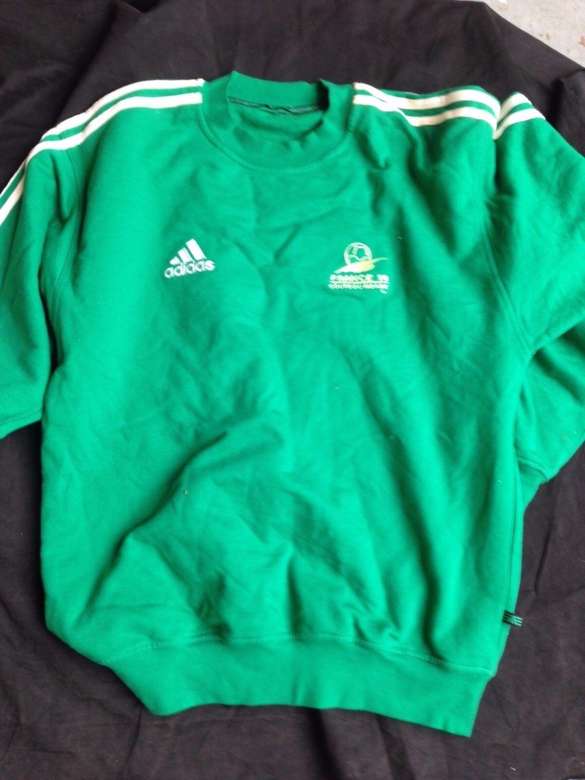 Pull stadier Coupe du monde monde monde 1998-RARISSIME-Sweat from the stadium Team FOOTBALL ff39f4
