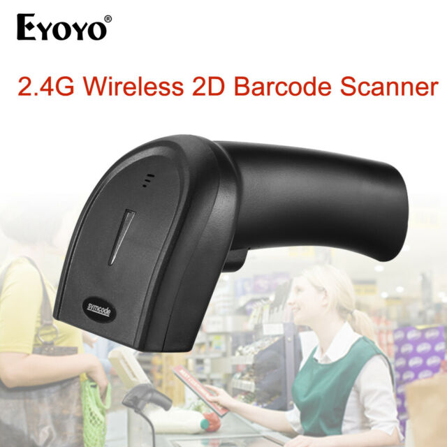 Eyoyo 3 in 1 2d Barcode Scanner CCD Pdf417 Data Matrix for iPad iPhone  Windows