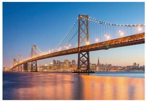 Ravensburger 1000 piece jigsaw puzzle BEAUTIFUL SKYLINES SAN FRANCISCO bridge