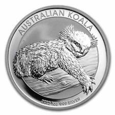 New 2012 Australian Silver Koala 1oz Bullion Coin (Encapsulated by the Mint)