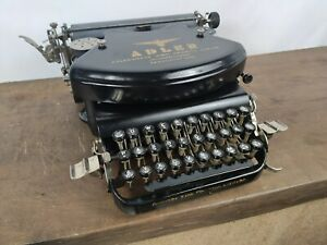 COLLECTIBLE TYPEWRITER ADLER 7  - NO RISK WITH SHIPPING