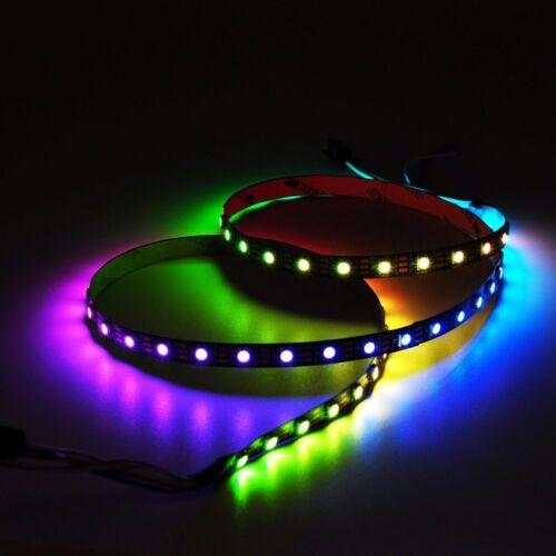 WS2812B 5050 RGB LED Strip 30//60//144 LEDs//M ws2812 IC Individual Addressable 5V