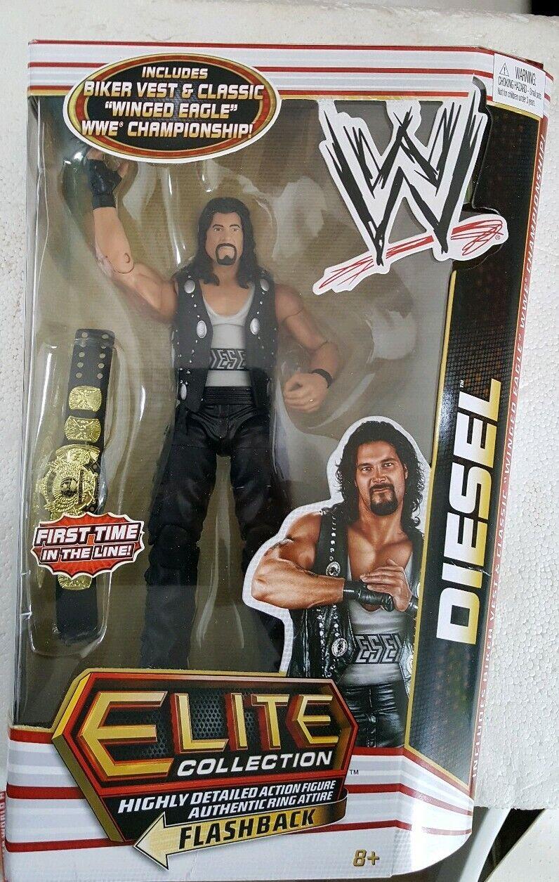 Série WWE MATTEL ELITE 16 Diesel Kevin Nash NEUF