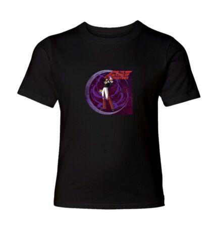 KOF Iori Yagami Men Women Crew Neck Unisex Short Sleeve Top Tee T-Shirt