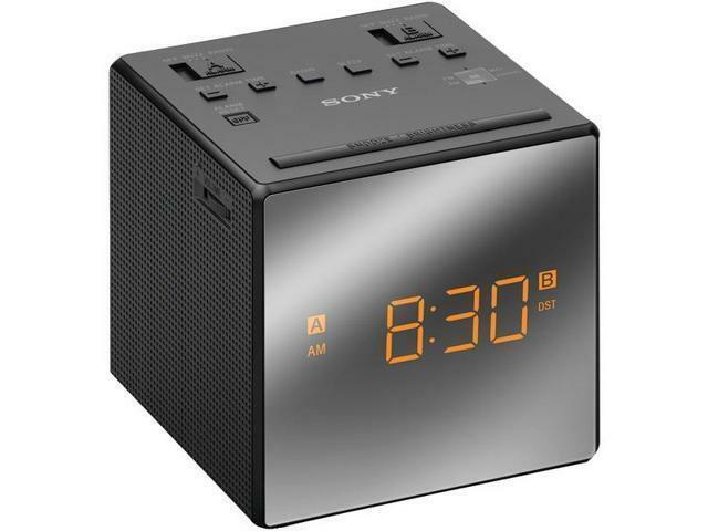 SONY ICFC1 Dual Alarm Clock Radio - Black