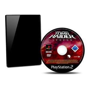 PS2-Jeu-Lara-Croft-Tomb-Raider-Legend-sans-Emballage-D-039-Origine-sans-Manuel-BB