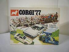 "Corgi Catalogue: ""1977 U.K. Catalogue"" (48 Pages)"