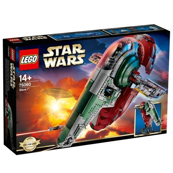 LEGO Star Wars Slave 1 75060 BRAND NEW Sealed in Box FREE 48Hr Delivery