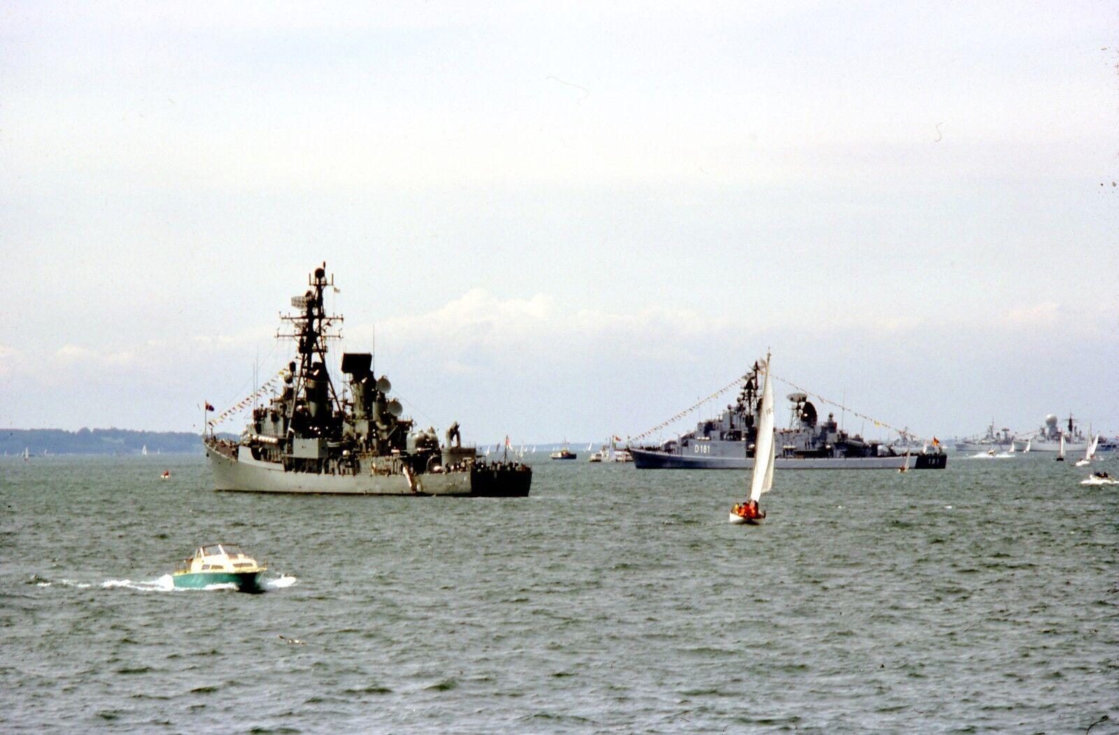 1977 ROYAL NAVY FLEET REVIEW HMAS BRISBANE  Photo Print