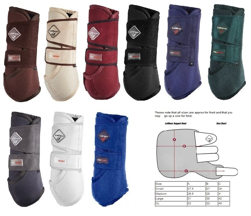 LeMieux  ProSport Support Boots,All Colours Sizes,Turnout Schooling & Competition  save up to 70%