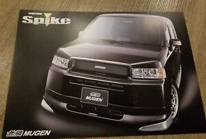 Honda Mobilio Spike Mugen Performance Catalog Brochure