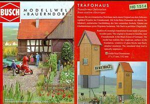 Busch-1514-Trafohaus-Kit-H0