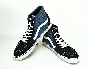 blue vans hi tops