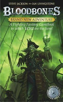1 of 1 - BLOODBONES Steve Jackson, Ian Livingstone slightly shop soiled adventure fantasy