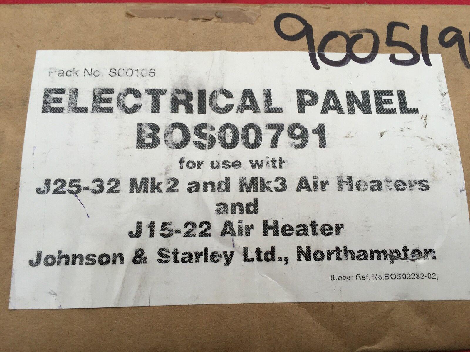 Johnson  starley j15/22  j25/32 Mark Panel 2, 3 Panel Mark Electrónico Pcb s00106 bos00791 34af93