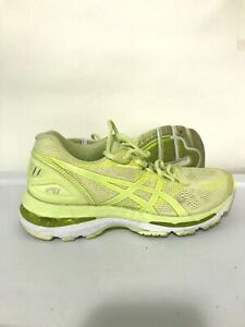 ASICS-Gel-Nimbus-20-Womens-Running-Shoes-Sneakers-Neon-Yellow-Size-6-T850N