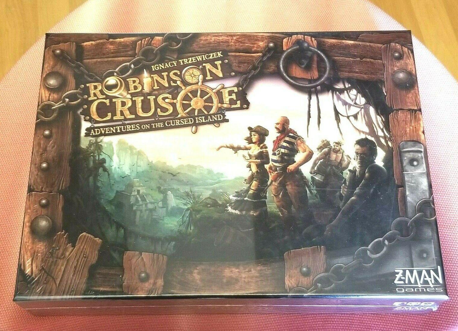 NOUVEAU  ROBINSON CRUSOE aventures de la maudite île Board Game 1st éd. - Comme neuf  bénéfice nul