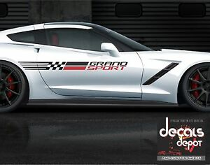 Corvette-Racing-Vinyl-Graphic-Decals-C4-C5-C6-C7-ZO6-ZR1-Stingray-SIDE-STRIPES