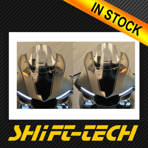 ST1866 YAMAHA YZF R1 15/' 16/' 17/' 18/' 19/'  FRONT LED TURN SIGNAL KIT MIRROR BLOCK