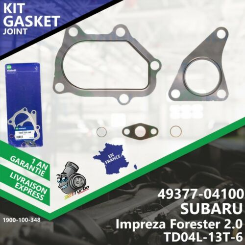 Gasket Joint Turbo SUBARU Impreza Forester 2.0 49377-04100 4937704100 TD04L--348