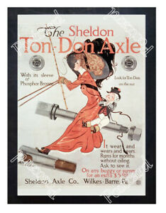 Historic-The-Sheldon-Ton-Don-Axle-Advertising-Postcard