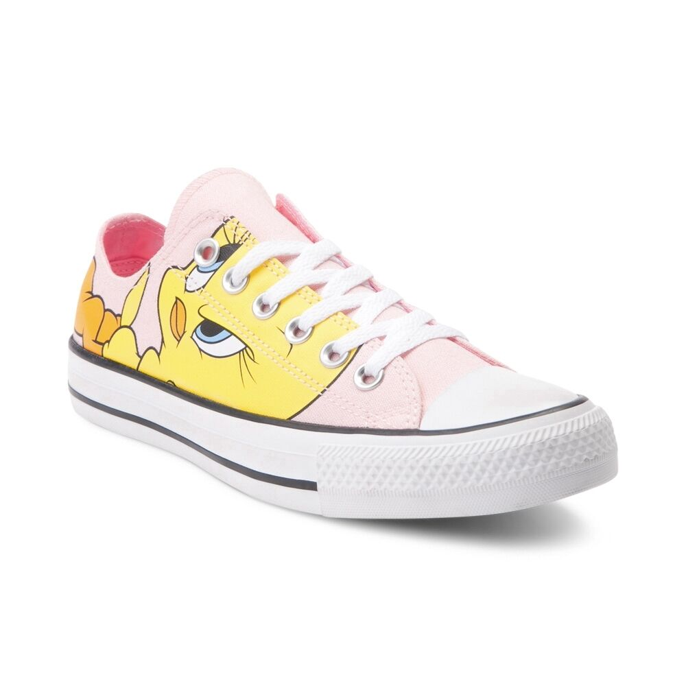NEW Converse Chuck Taylor All Star Lo Looney Tunes Tweety Bird  Uomo