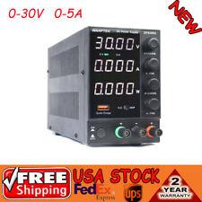 Wanptek Power Supply 30v 5a Precision Variable Dc Digital Adjustable Lab