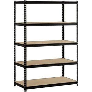 image is loading heavy duty shelf garage steel metal storage 5 - Heavy Duty Bookshelves