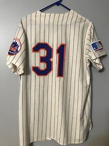 8e4ed7aa7 1969 New York Mets Mitchell And Ness Throwback Mike Piazza #31 | eBay