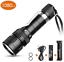 Qualité De Plongée Torche 5 Modes 1080 LM Mini plongée lampe de poche rechargeable