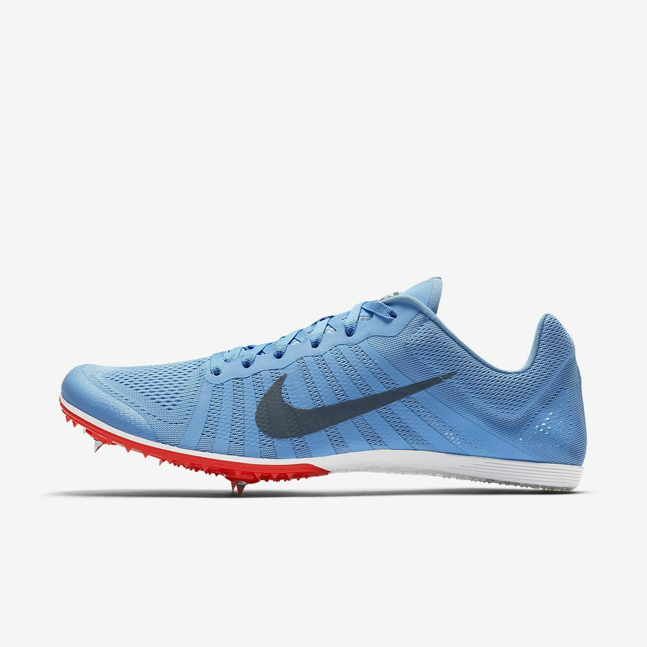 NIKE ZOOM D Track Field Distance Spikes MENS bluee 819164 446 NEW