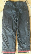 Black burberry ski pants age 5