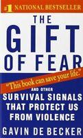 The Gift Of Fear By Gavin De Becker, (mass Market Paperback), Dell , New, Free S on sale