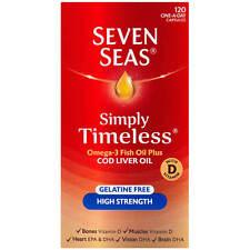 SEVEN SEAS COD LIVER OIL HIGH STRENGTH - 120 CAPSULES