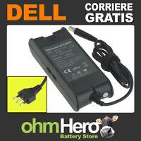 Alimentatore 19,5V 4,62A 90W per Dell Inspiron 1525