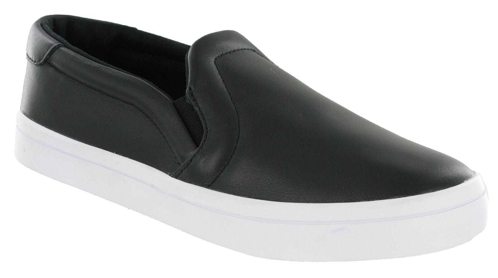 Adidas Chaussures Court Vantage Slip On Flat Noir Coussin Chaussures Pas Cher Pour Femme S75167