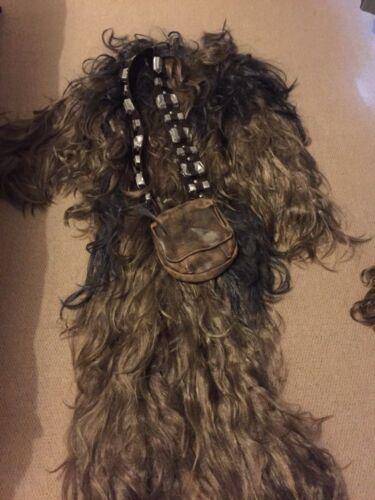Star Wars Chewbacca Costume Full Set Adult Cosplay Chewie Halloween Costumes New