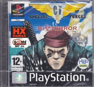 Ps1-PlayStation-One-PsOne-Psx-CT-SPECIAL-FORCES-3-nuovo-italiano-sigillato