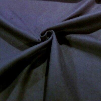 Cozy! Warm Soft Bright Cobalt Blue Solid Wool Melton Jacketing//Coating
