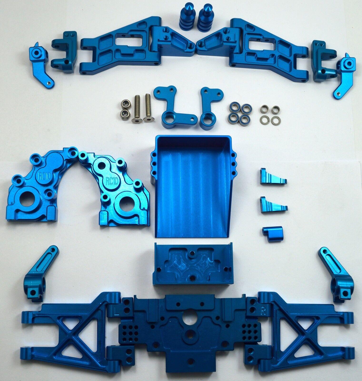 Dhawk racing aluminium umstellung kit blau fr team rc10 welt im auto