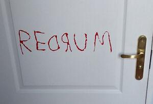 Image is loading The-Shining-Door-sticker-REDRUM-MURDER-Decal-Vinyl- & The Shining Door sticker REDRUM MURDER Decal Vinyl Jack Nicholson ...