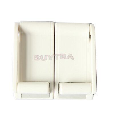 Convenient Magnetic White Paper Towel Holder Kitchen Paper Towel Rack ESUS