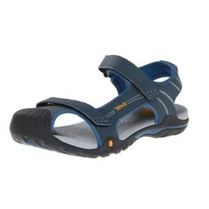 a96161711 NEW Kids TEVA TOACHI 2 Stone NAVY Water Sport Rock Sand Sandals SIZE ...