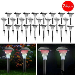 24x-Solar-Powered-LED-Yard-Garden-Lights-Color-Changing-Path-Way-Lamp