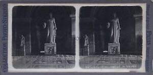 Museo Del Louvre Sala Sculture Greche Melpomene Parigi Stereo Vintage